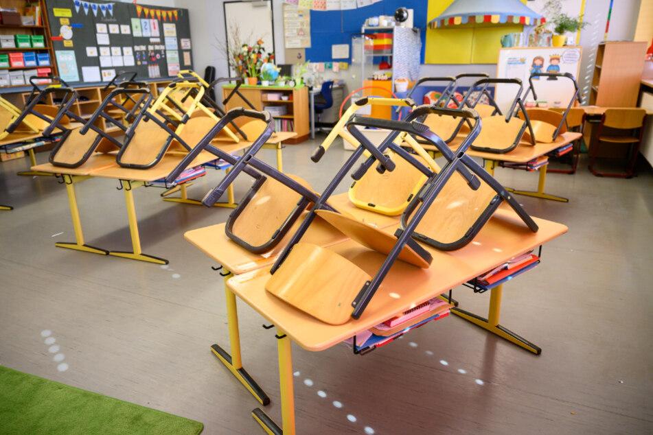 Eine Stuttgarter Grundschule.