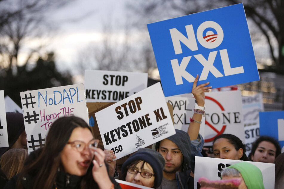 The Keystone XL pipeline faced a wave of public protests, which culled together a diverse coalition of climate and indigenous activists, among others.