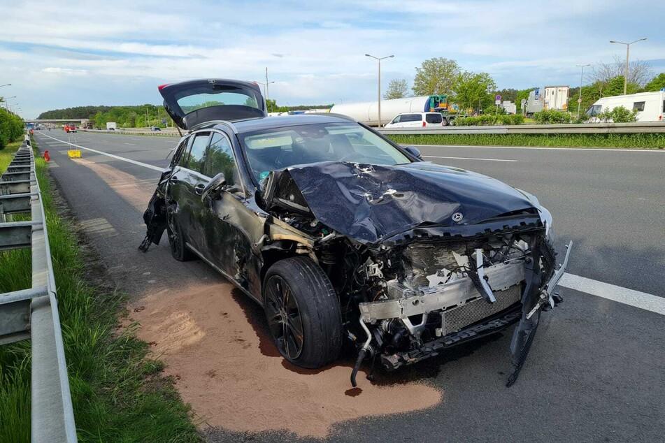 Auf der A9 hat es am Montagabend gleich zwei Unfälle gegeben.