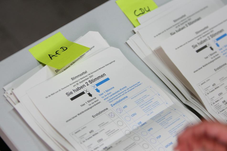 In Sachsen gab es am Sonntag deutlich mehr Kreuze für die AfD als für die CDU.