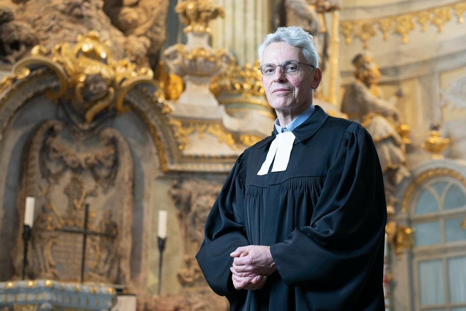 Markus Engelhardt (59) leitet seit Mai 2021 die geistlichen Aufgaben der Frauenkirche.