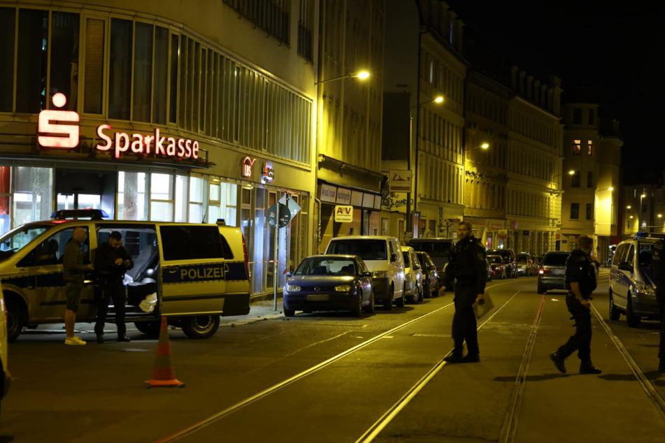 In der Nacht zum Sonntag wurde in Leipzig eine Sparkasse attackiert.