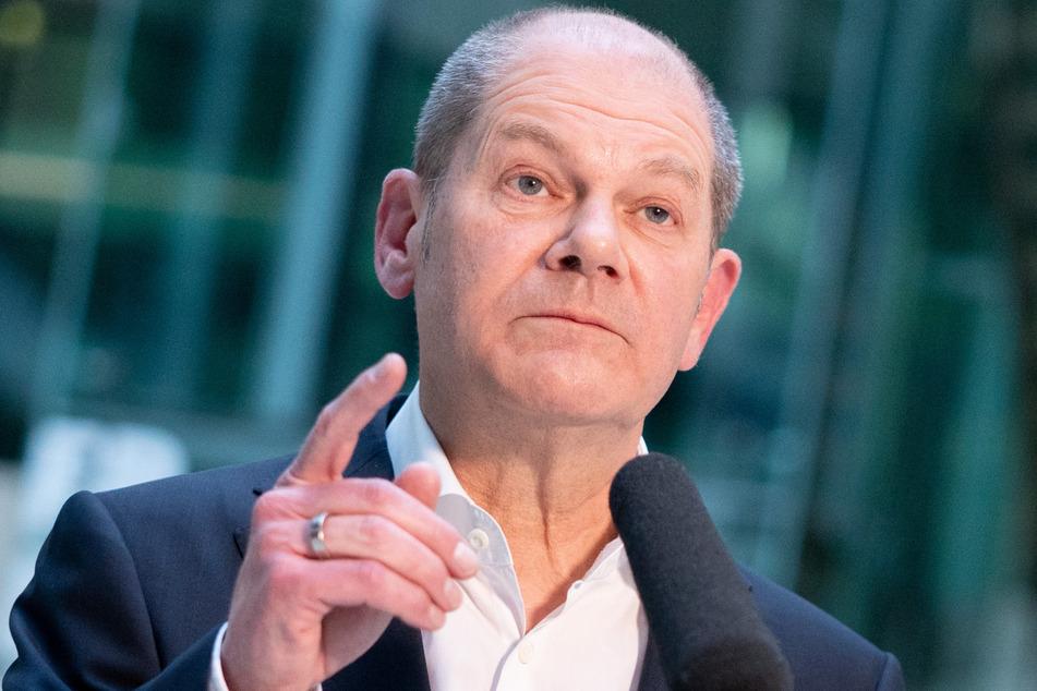 Finanzminister und Kanzlerkandidat Olaf Scholz (62, SPD).