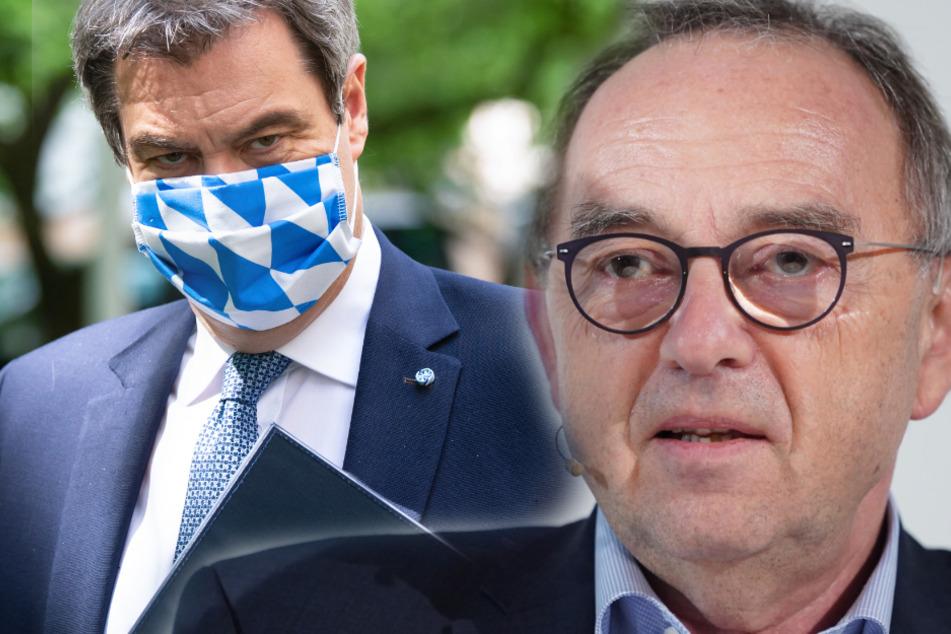 Falsche Corona-Hilfen: SPD-Chef Walter-Borjans kritisiert Söder