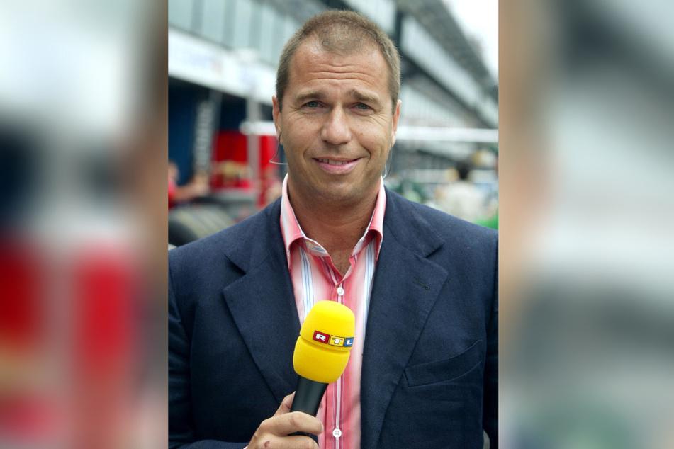 Ex-RTL-Rennexperte Kai Ebel (56) wird am heutigen Freitagabend zu Gast im MDR Riverboat sein. (Archivbild)