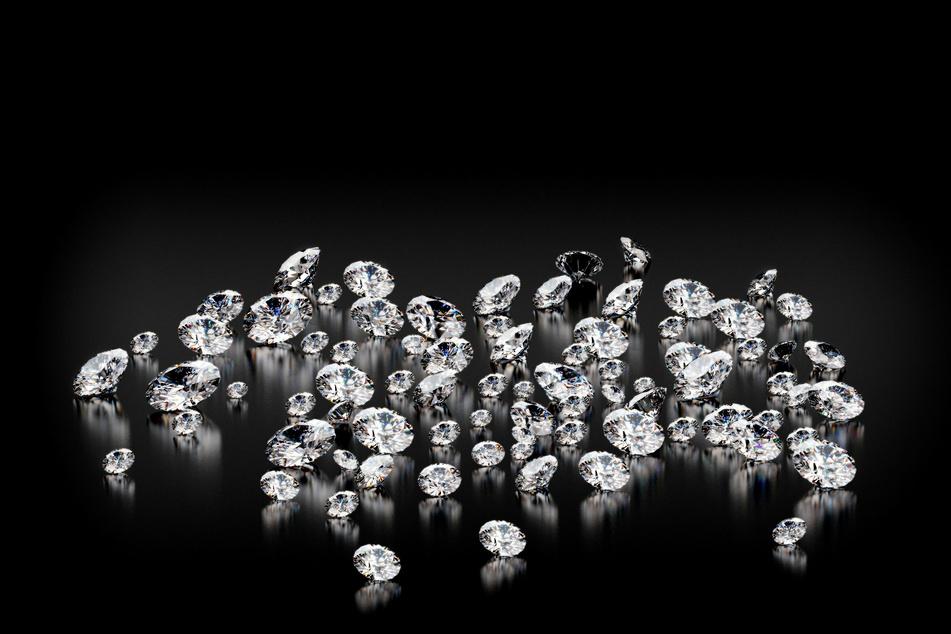 Die gestohlenen Diamanten tauchten seit der Tat nie wieder auf. (Symbolbild)