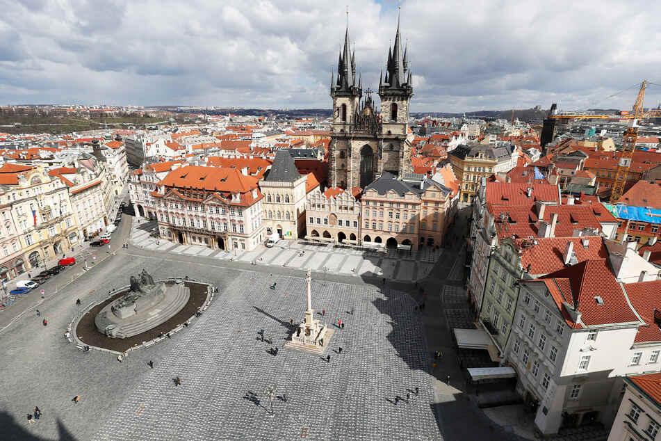 Blick in die Altstadt der tschechischen Hauptstadt Prag.