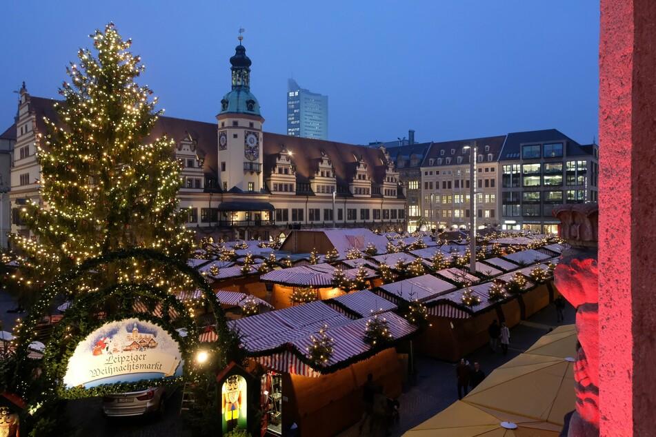 """Ab 2022 muss der Leipziger Weihnachtsmarkt ohne seinen """"Mini-Zoo"""" auskommen."""