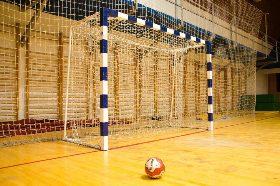 Handballtor mit Ball. (Foto: Marino Bobetic)