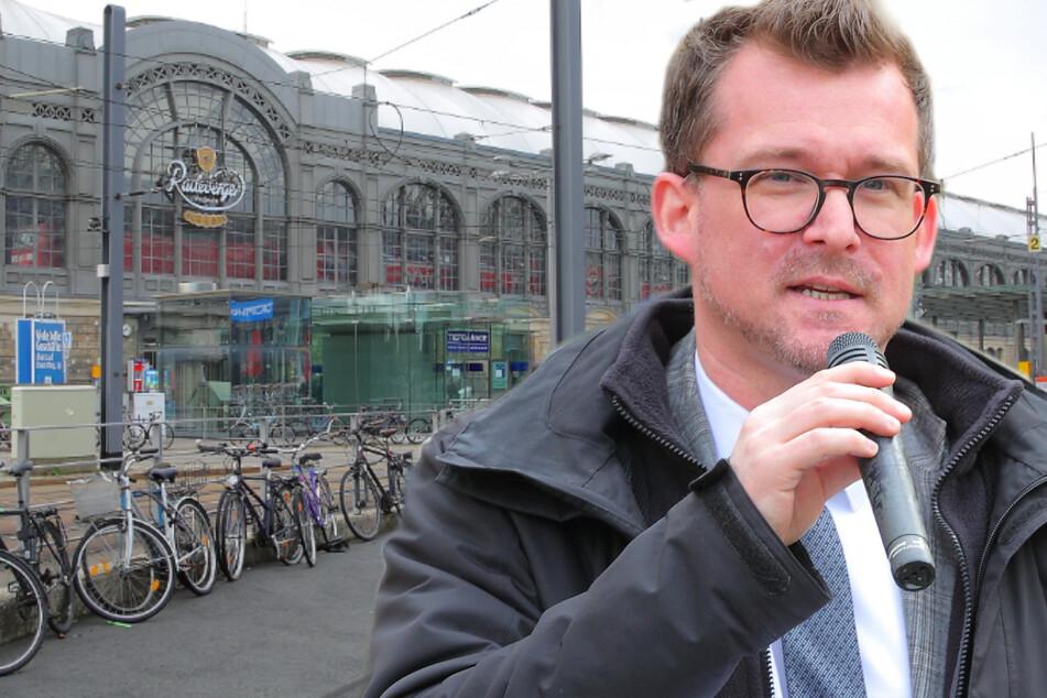 Dresdens Bahnhöfe im Fahrrad-Check: Ganz mies!