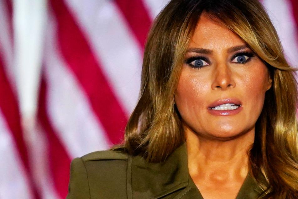 Lässt sich Melania Trump bei öffentlichen Auftritten von einem Double vertreten?