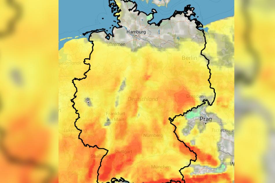 Ab Mitte der Woche wird's milder in Deutschland.