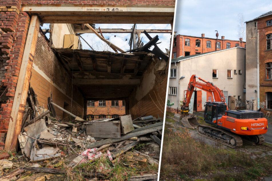 Ende einer Ära: Oelsnitz reißt alte Teppichfabrik ab