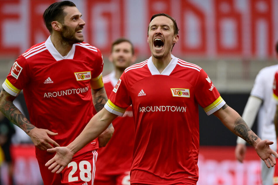 Ein absoluter Volltreffer. Max Kruse (r.) ist mit zehn Toren und fünf Vorlagen Unions Topscorer.