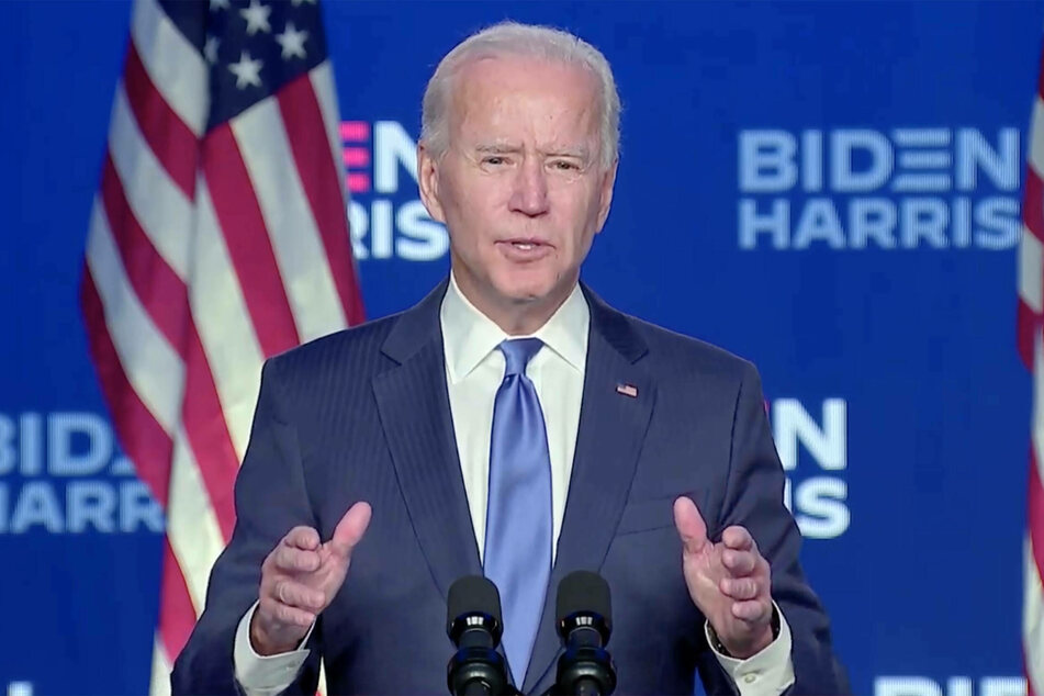 Joe Biden will be the 46th president of the United States.