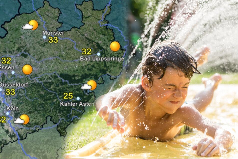 Hitzewelle voraus! Sonne pur, tagelang über 30 Grad
