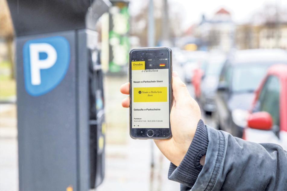Dresden: Parktickets können in Zukunft noch einfacher mit dem Handy bezahlt werden