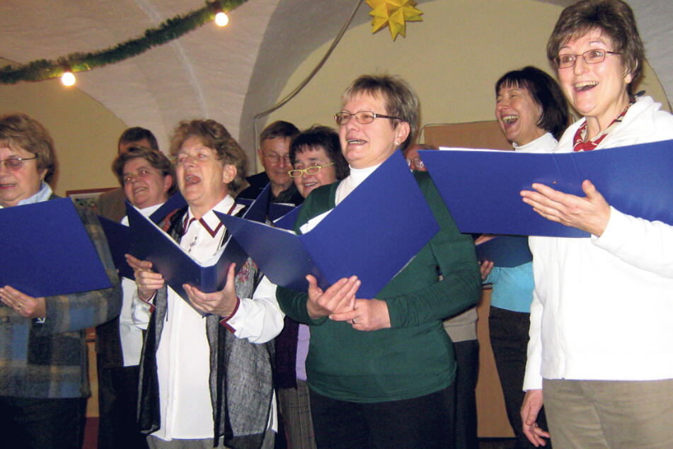 Neuer Leiter gesucht: Der Erbgerichts-Chor Reinhardtsgrimma singt auch für Senioren im Pflegeheim.