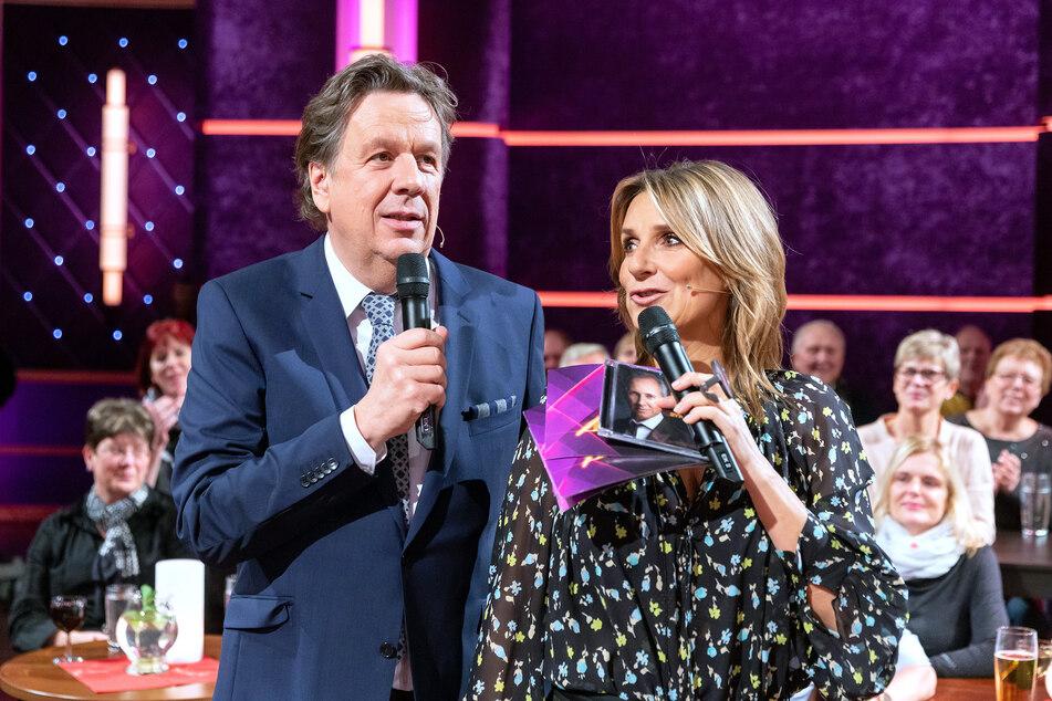 """Kim Fisher (51) und Jörg Kachelmann (62) müssen in dieser Woche zugunsten der Verleihung der """"Goldenen Henne"""" auf ihre Sendezeit verzichten. (Archivbild)"""