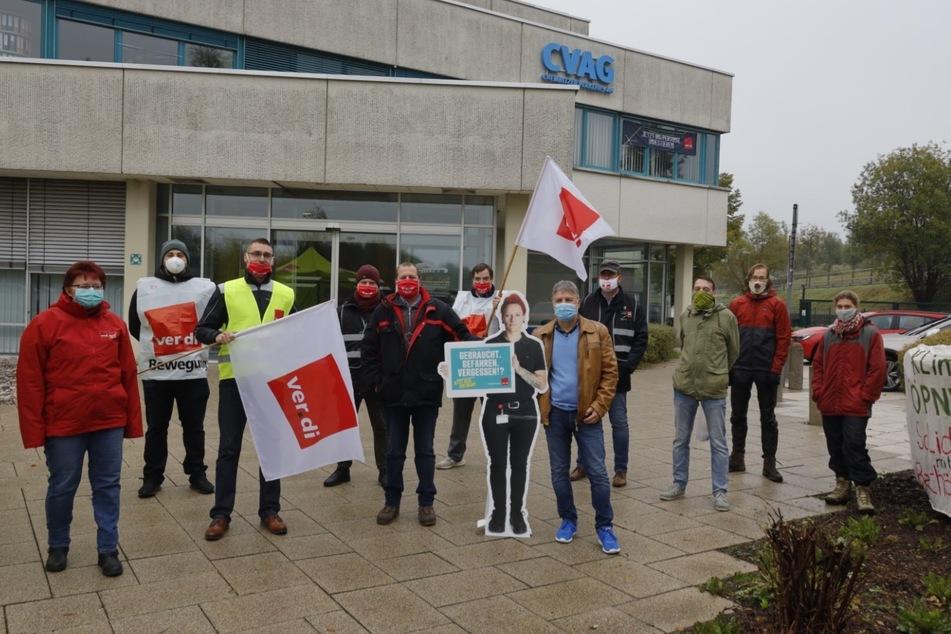 Am Donnerstag wird im sächsischen ÖPNV wieder gestreikt. Betroffen ist auch die CVAG.