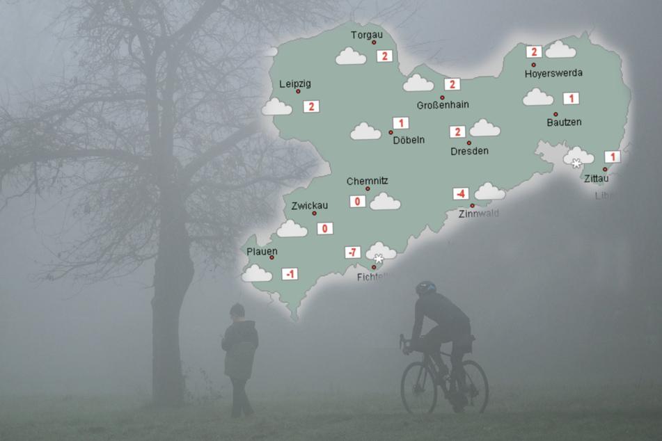 Trübes Wetter in Sachsen: Wann kommt der Schnee wieder?