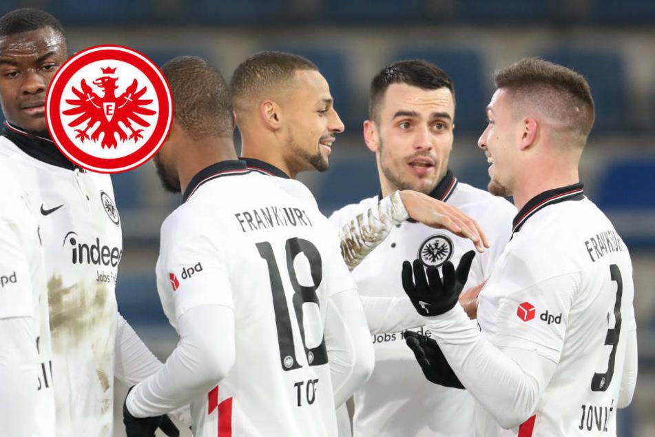 """Eintracht Frankfurt nimmt Kurs auf Europa: """"Strotzen vor Selbstvertrauen"""""""