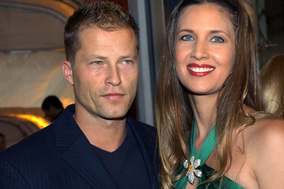 Schauspieler Til Schweiger und seine damalige Ehefrau Dana Schweiger im Jahr 2004. (Archivfoto)
