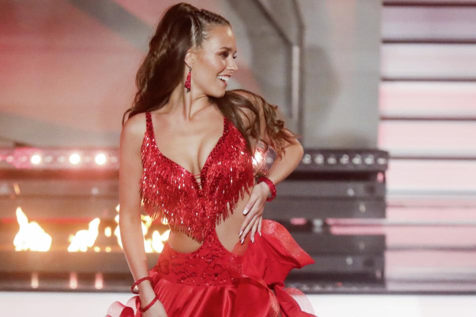 Bei Let's Dance bewies Laura Müller (20), dass sie ein gutes Körpergefühl hat.