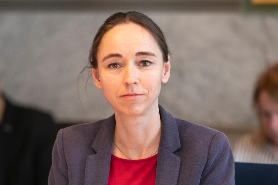 """Sozialbürgermeisterin Kristin Klaudia Kaufmann (43, Linke) versichert: """"Wir sind gut vorbereitet."""""""