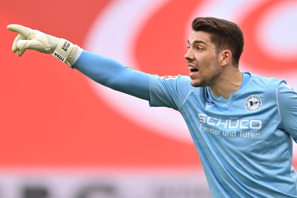 Bielefelds Torwart Stefan Ortega Moreno (28) gehört zwar aktuell nicht zum EM-Kader Deutschlands, könnte aber nachrutschen, falls Manuel Neuer, Bernd Leno oder Kevin Trapp ausfallen sollten.