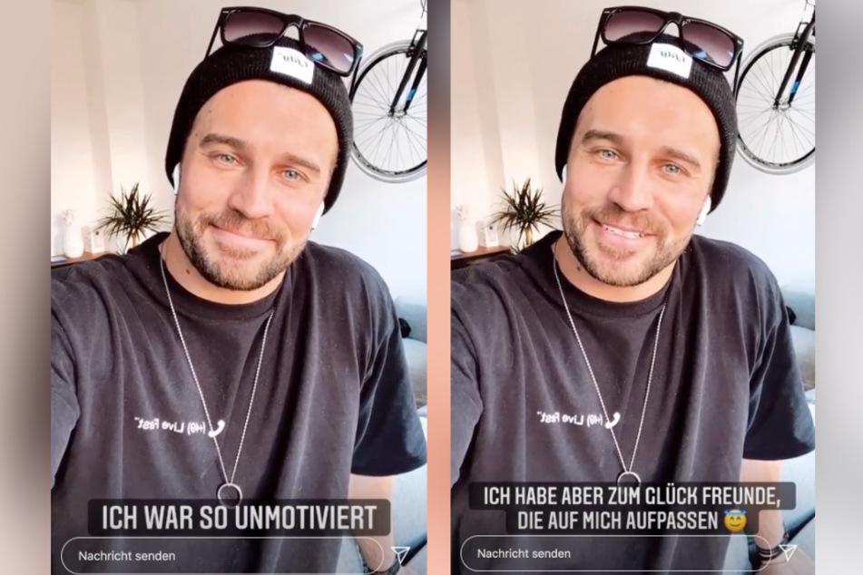 Auf Instagram liefert Alex (32) den Followern eine Erklärung.