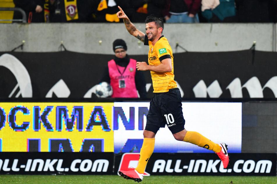 Marco Terrazzino (29) spielte in der vergangenen Rückrunde bei Dynamo Dresden, konnte dort aber nur teilweise überzeugen.