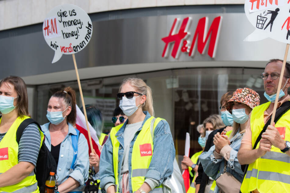 In Sachsen, Sachsen-Anhalt und Thüringen: Verdi setzt Warnstreiks im Einzelhandel fort
