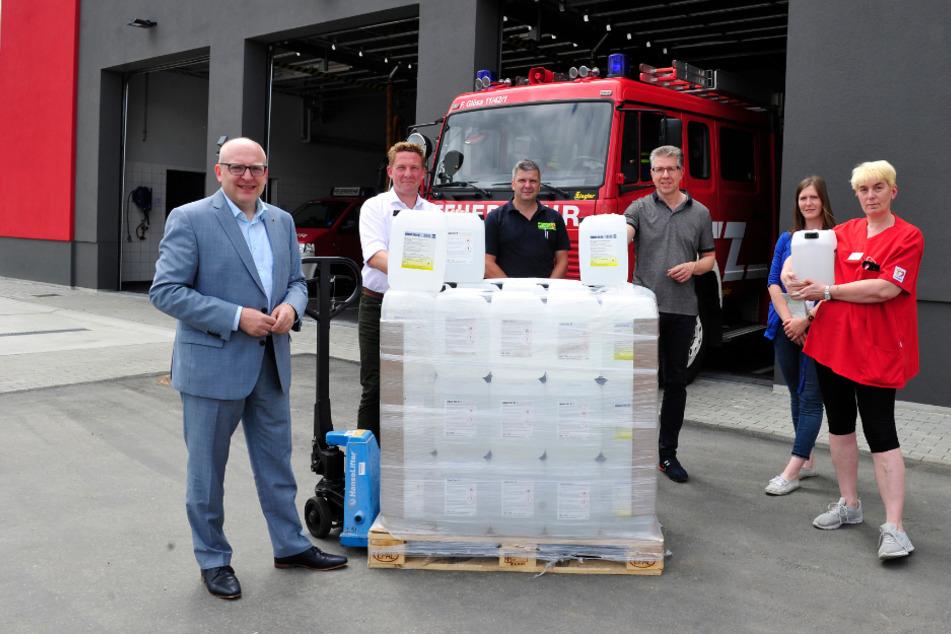 Wernesgrüner schenkt Chemnitz 1800 Liter! Allerdings kein Bier