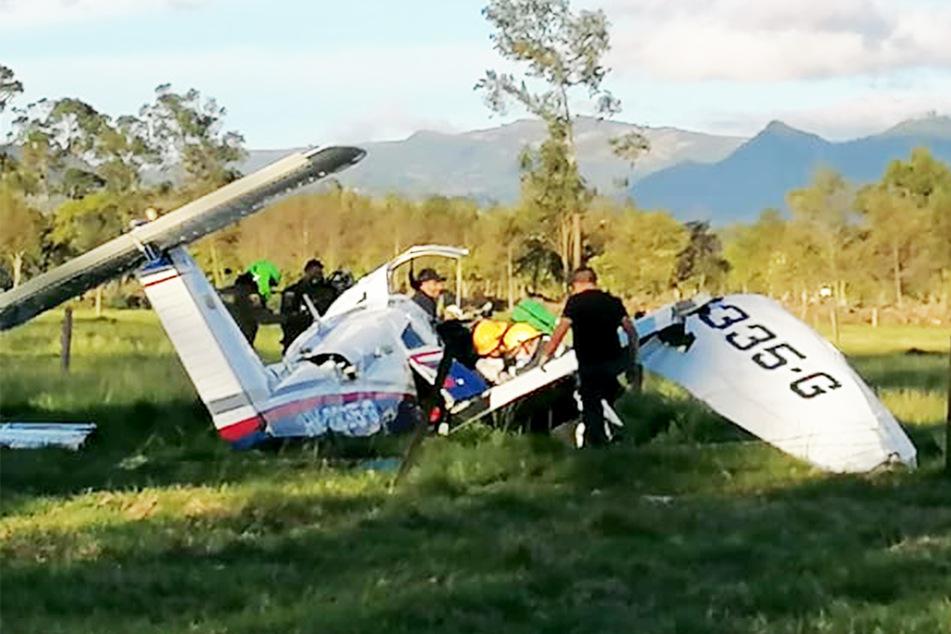 Flugzeug stürzt ab: Nur Baby überlebt!