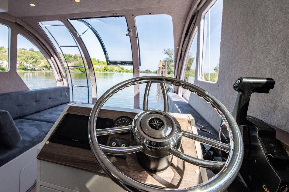 Im Caravanboat gibt es eine luxuriöse Ausstattung.