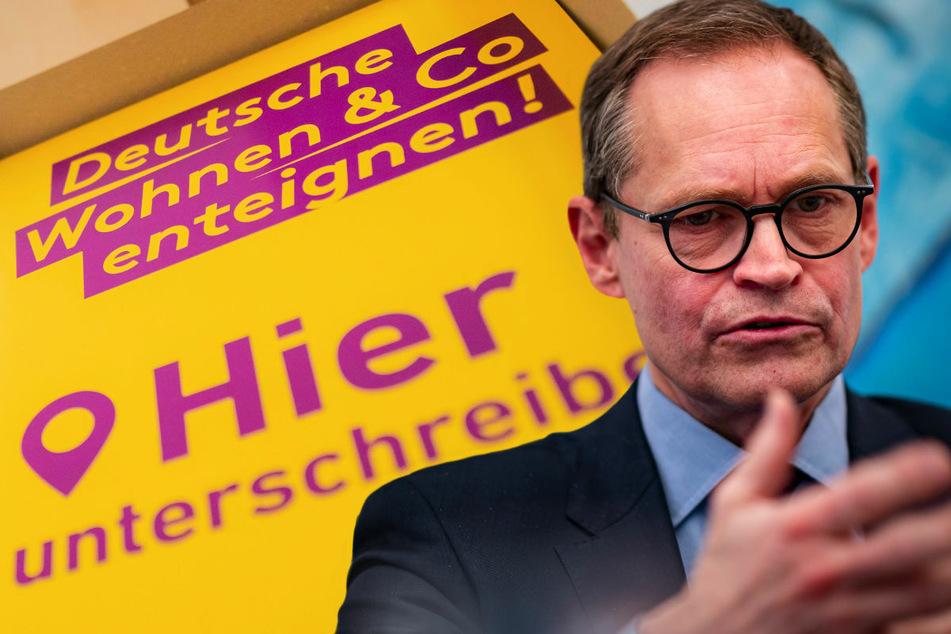 """Private Partner wichtig: Müller gegen """"Deutsche Wohnen & Co. enteignen"""""""