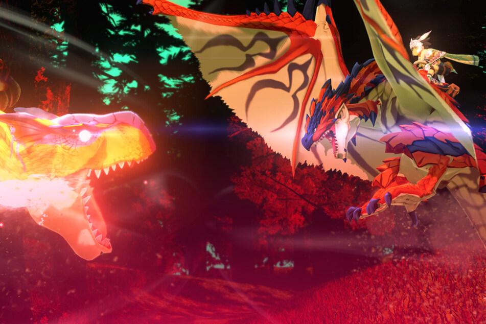 """Kämpfe an Bord eines Monsters sind in """"Monster Hunter"""" ja längst keine Seltenheit mehr. Im neuesten Ableger der Serie könnte das Spielelement jedoch eine ganz neue Stufe erreichen."""