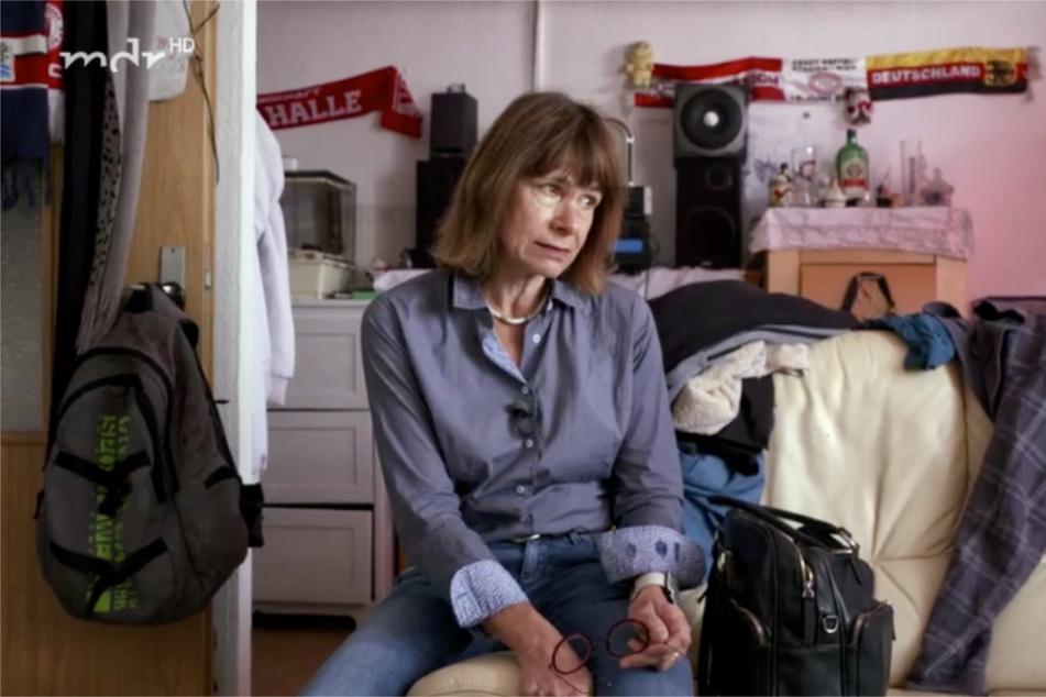 Uta von Wilcke kümmert sich in Halle um die Menschen, die nicht allein in ihrem Alltag zurechtkommen.