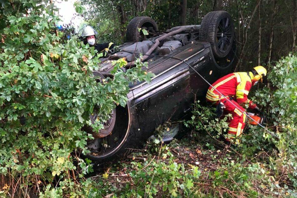 Verletzt wurde durch den Unfall keiner – auch nicht das Reh!