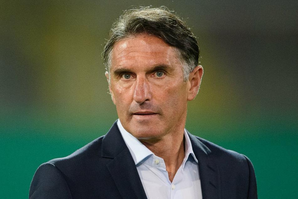 Bei der Pressekonferenz vor dem Spiel Hertha BSC gegen Eintracht Frankfurt prophezeite Hertha-Coach Bruno Labbadia (54) ein kampfbetontes Spiel gegen die Hessen.
