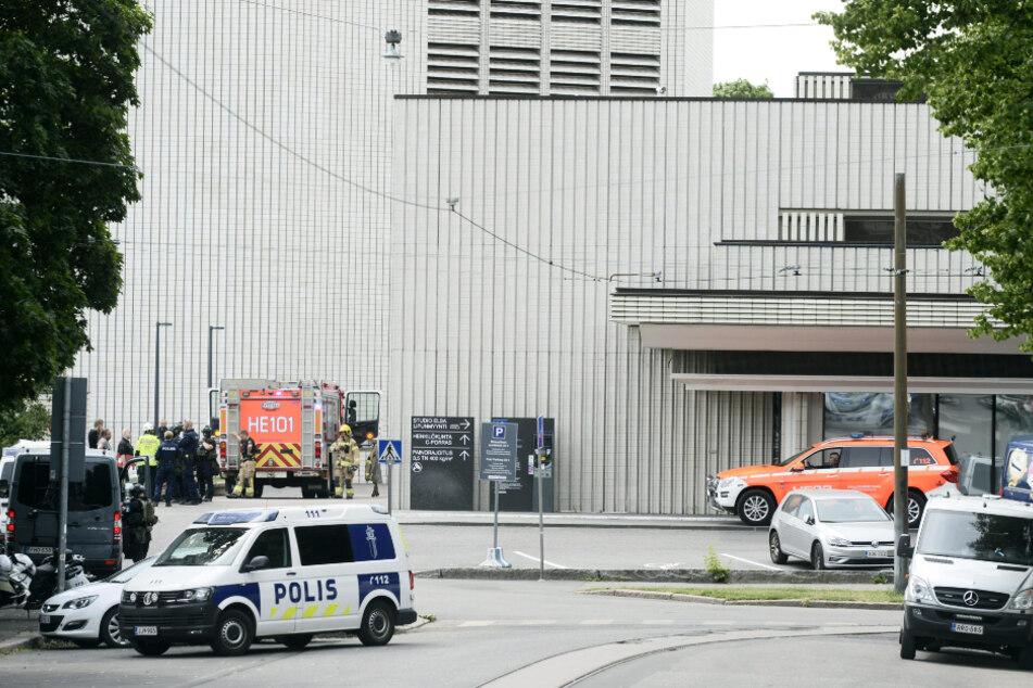 Explosion in Staatstheater: Ein Mensch verletzt!
