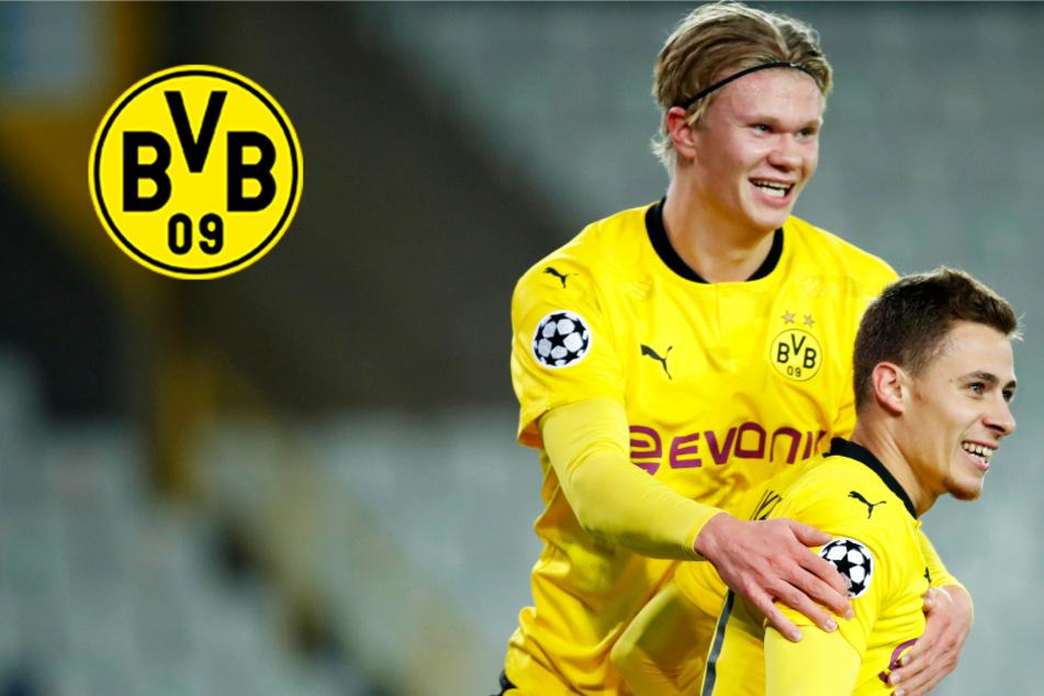 BVB lässt FC Brügge keine Chance! Haaland überragt mit Doppelpack