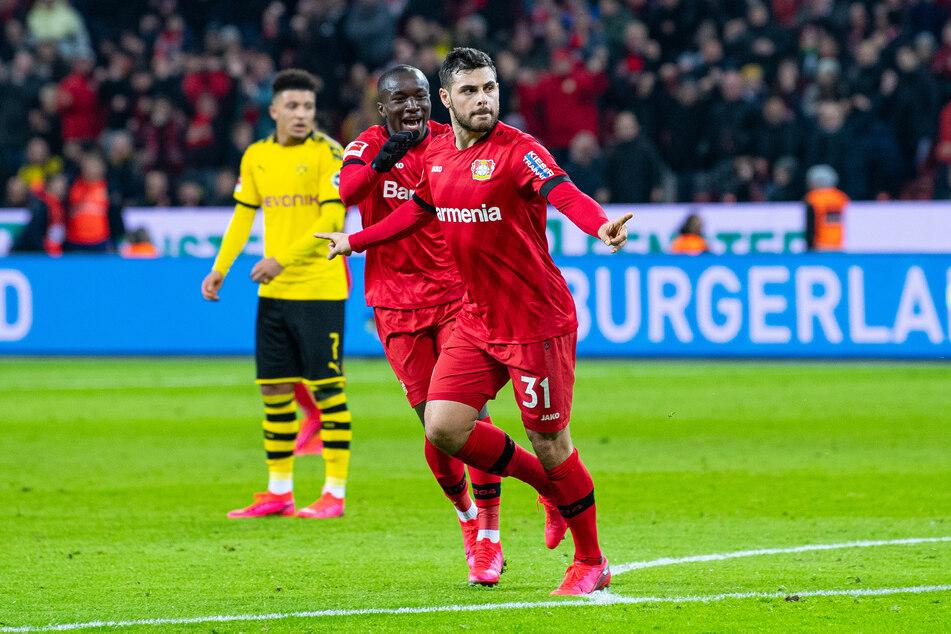 Kevin Volland (27) von Bayer 04 Leverkusen arbeitet nach einer Verletzung derzeit in der Reha an seinem Comeback.