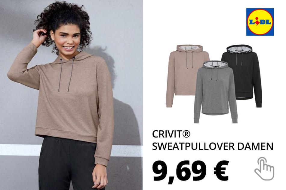 CRIVIT® Sweatpullover Damen