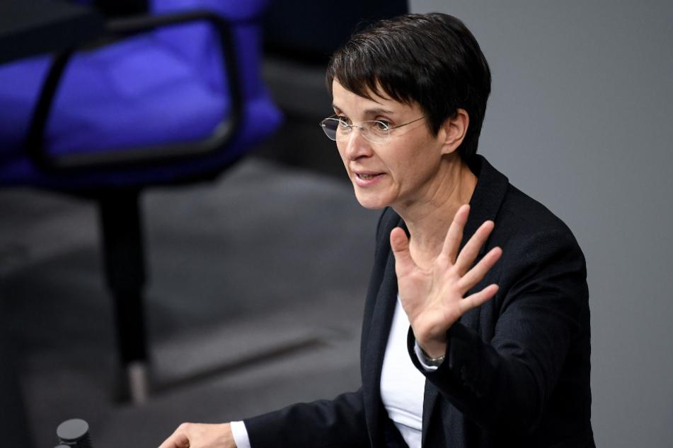 Das Verfahren gegen Frauke Petry (45) wird wahrscheinlich erst im kommenden Frühjahr stattfinden können. (Archivbild)