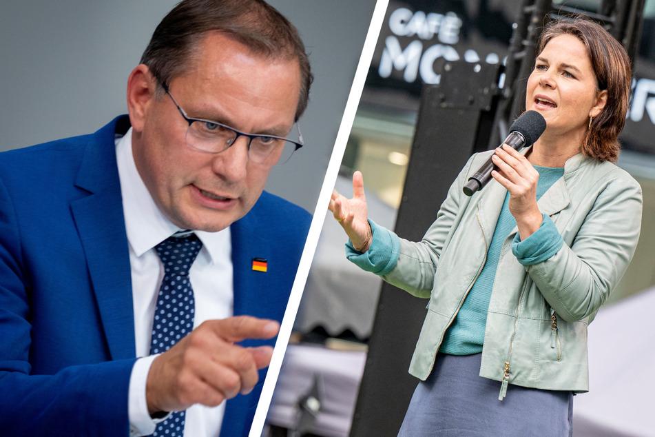 "Fiese AfD-Spitze gegen Baerbock bei Wahlkampf-Abschluss: ""Quotenfrau"""