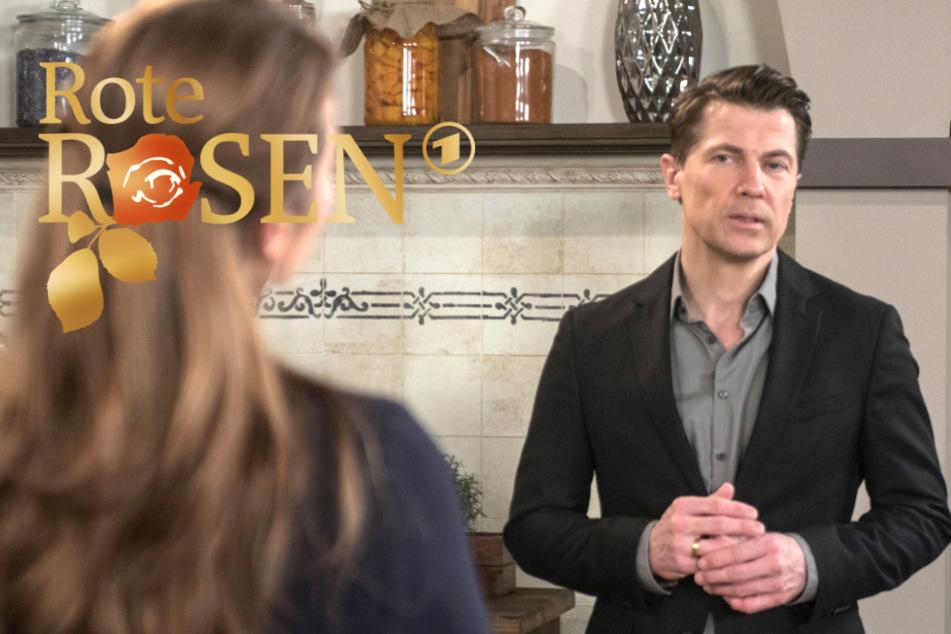"""""""Rote Rosen"""": Carla kann und will ihr Restaurant nicht aufgeben. Mit Gregor ist sie durch."""