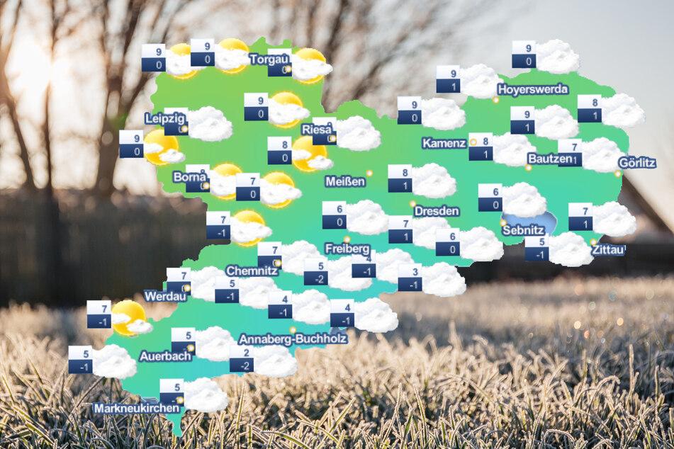 In Sachsen wird es in dieser Woche teilweise frostig.
