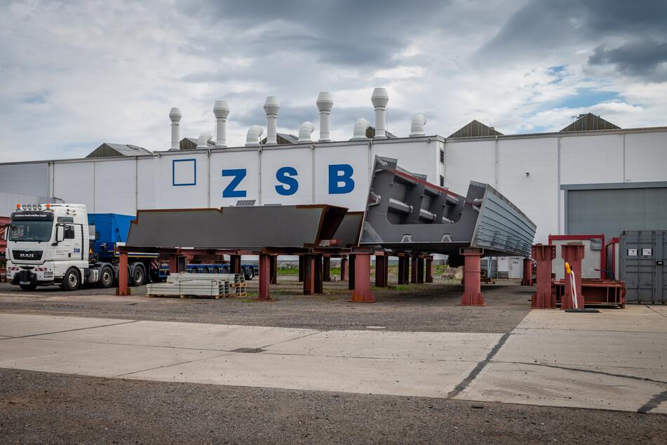 Die Zwickauer Sonderstahlbau GmbH hat ihren Firmensitz an der Äußeren Dresdner Straße.